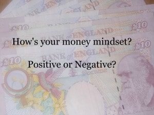 Attract money and great a positive money mindset