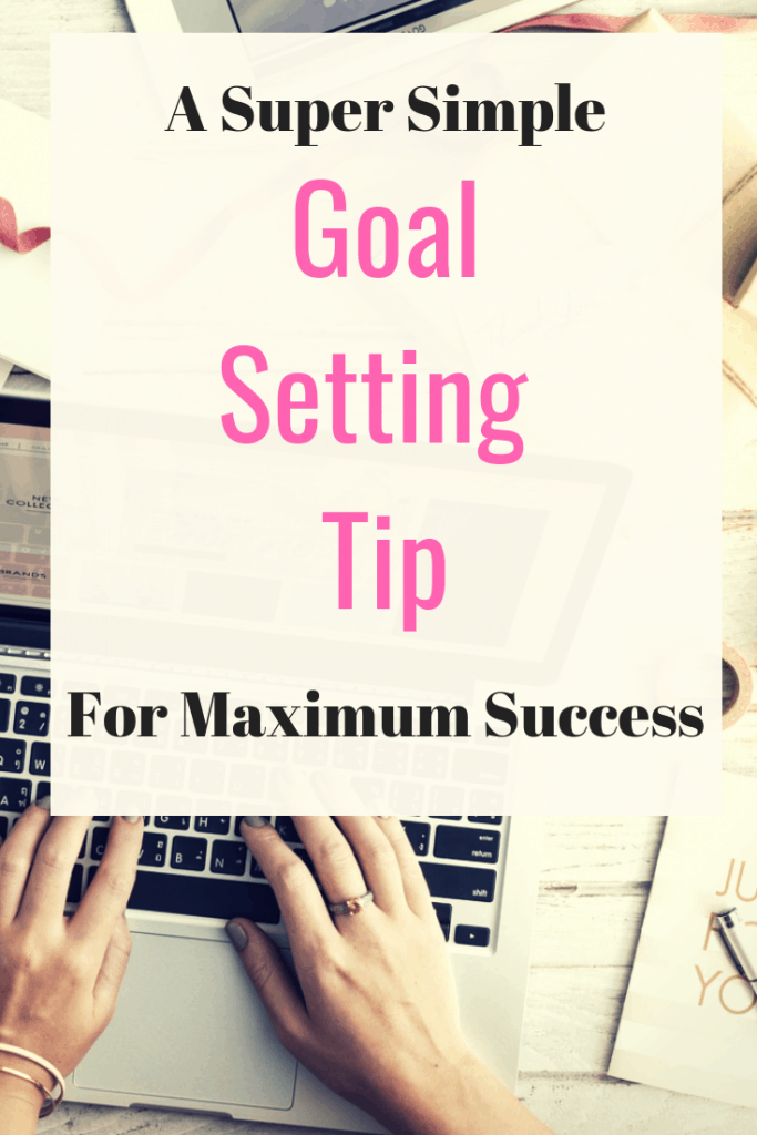 A super simple goal setting tip for maximum success - How to avoid over complicating your goals and set your self up to achieve your goals consistently.