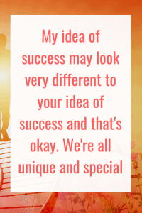 It's absolutely fine that we all have different ideas of what success is. The key is to get really clear about what success means to you personally and then create your roadmap to success. #Success #Business #BusinessMotivation #BusinessInspiration #Quote