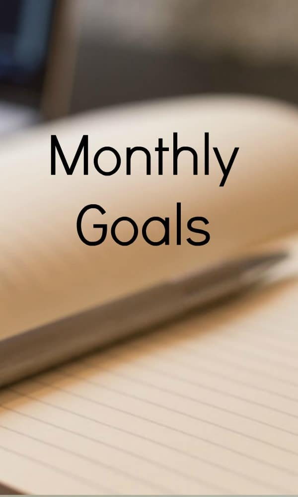 Monthly goals - Monthly goal setting tips