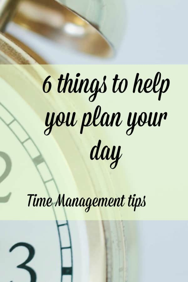 Planning your day ahead of time will really ensure your day runs smoothly. Follow these 6 tips #timeManagement