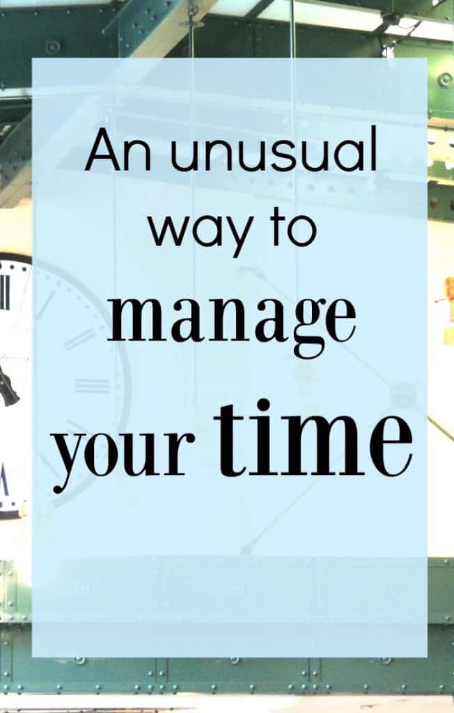 I admit that this is an unusual time management tip but well worth giving it a go. It's also amazingly relaxing which is always a positive extra.