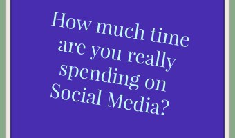 How much time are you spending on social media/