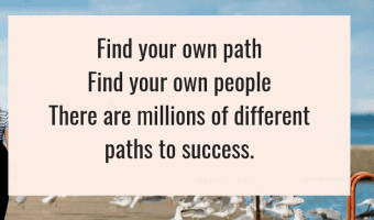 Find your own path, find your own people, there are millions of paths to success. #entrpreneur #Success Wendy Tomlinson #Quote