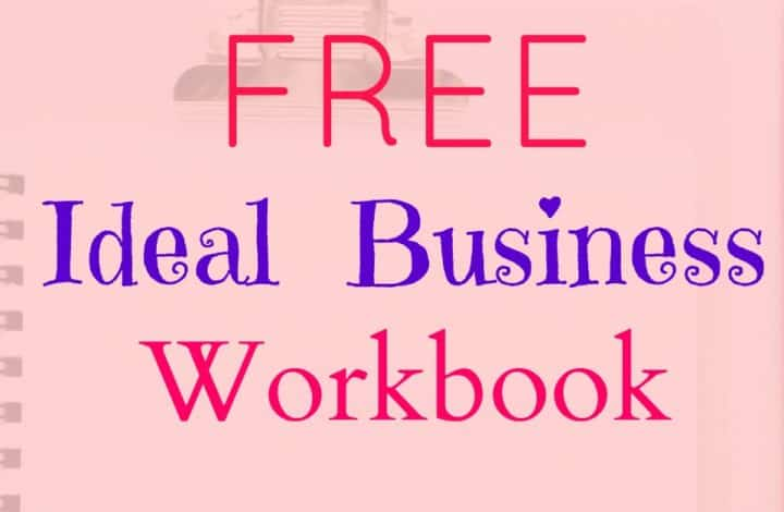 Free Ideal Business Workbook - This workbook has been designed to help you gain real clarity and focus in your business. It will also help you to effectively use the law of attraction in your business to attract the business you really want.