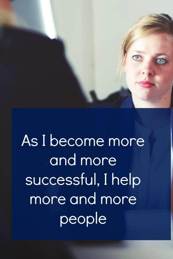 Business empowerment affirmations