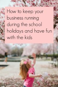School holiday planner for business parents