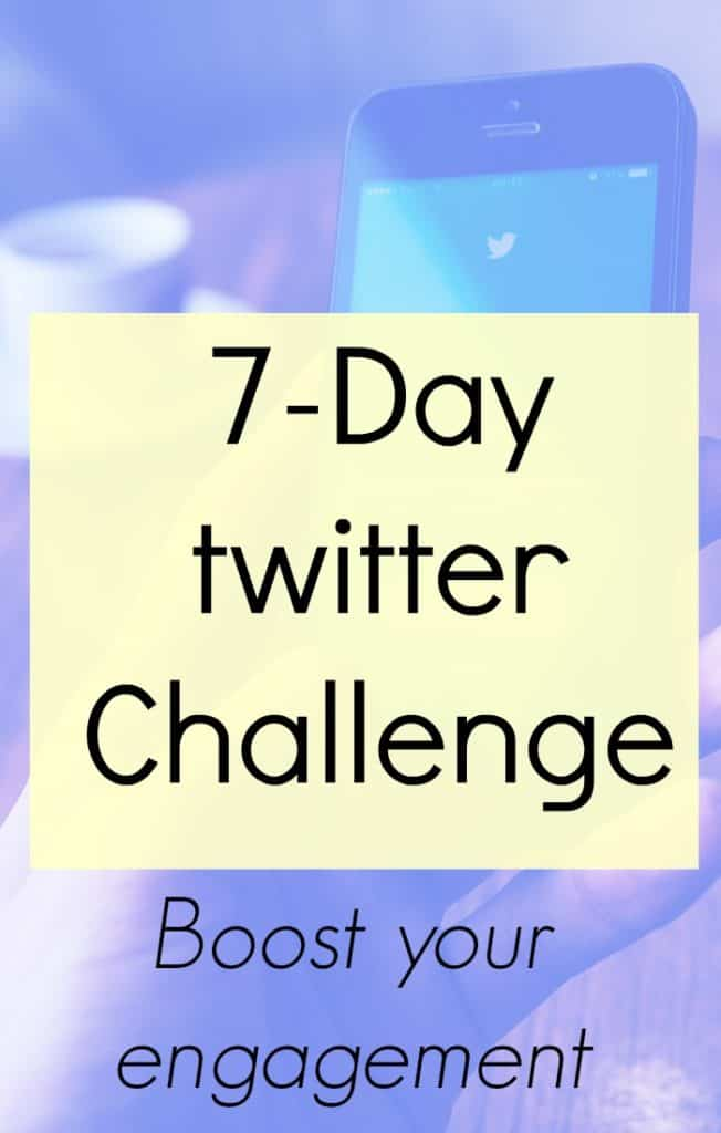 7-day twitter challenge to boost interaction and engagement