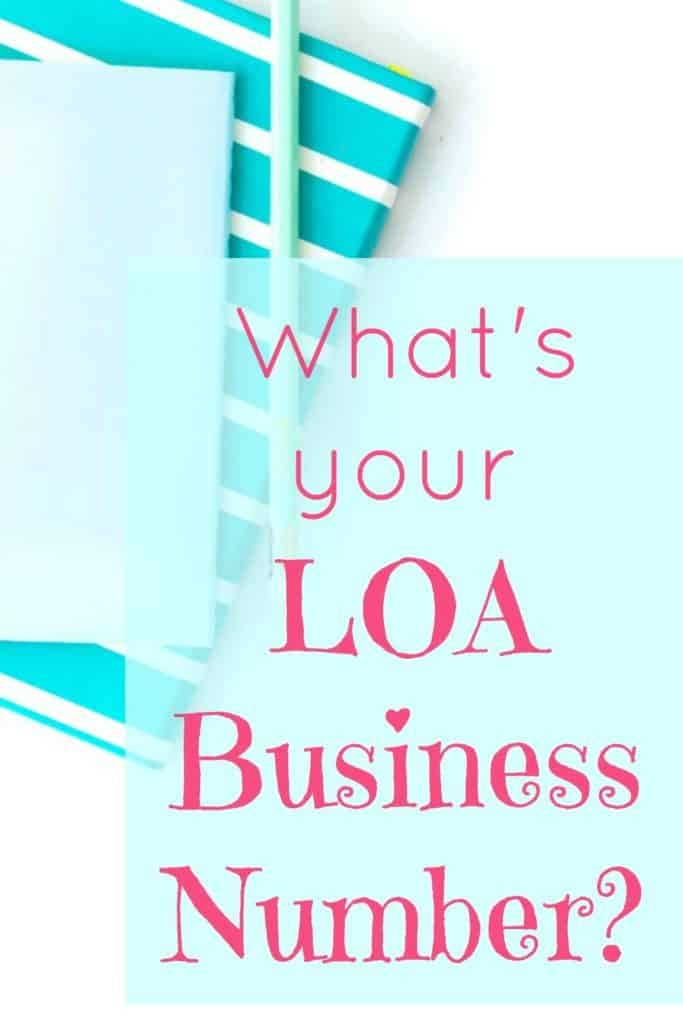 LOA Business Number - Find out what you law of attraction business number is and use it to help guide you to success.