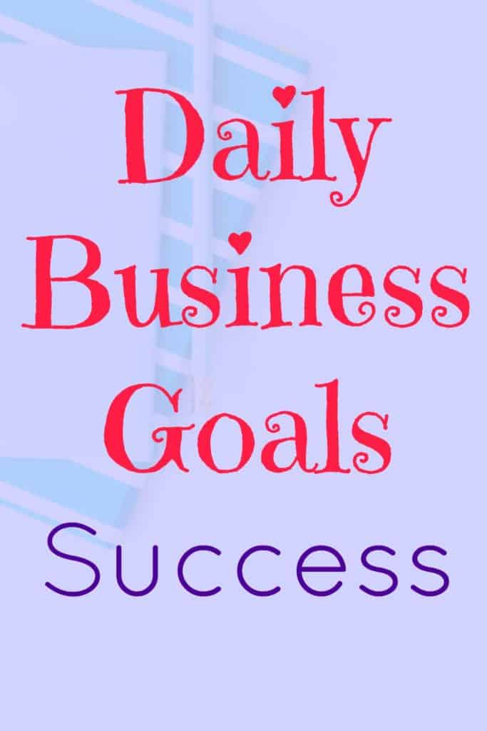 Set and achieve your daily business goals. Tie them in with your appointments, specific time events and your to-do list.