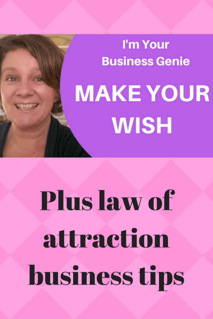 Check out my BUSINESS GENIE blog post and video to help you attract the thing that you most want in your business. This is a fun and incredibly powerful exercise.