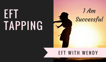 I am successful EFT tapping session