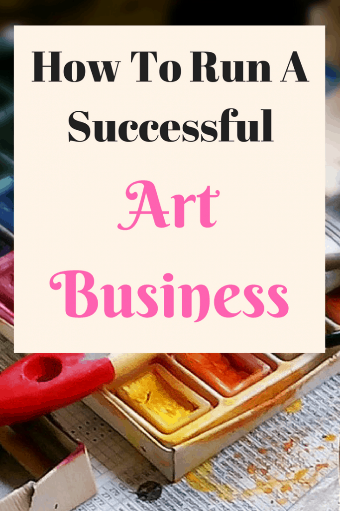 How to run a successful art business