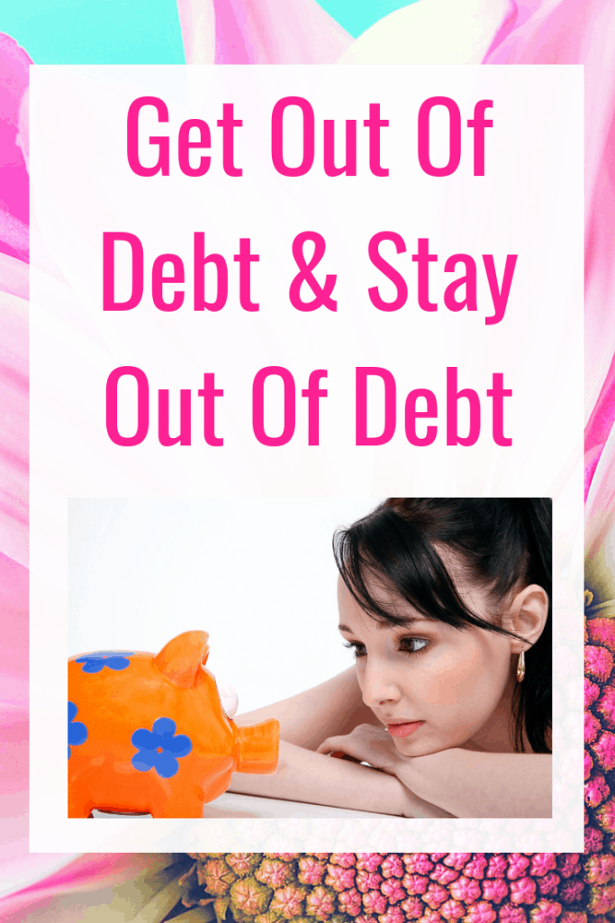 Debt-Free Living - 10 Tips to help you get out of debt and stay out of debt. Plus a free download with even more debt free living advice and tips to save money.