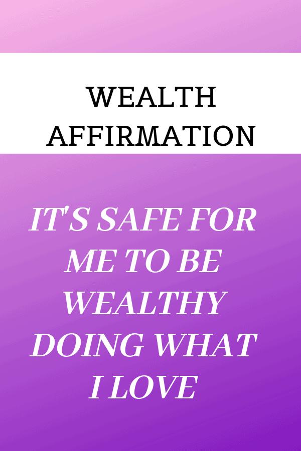 Wealth Affirmation