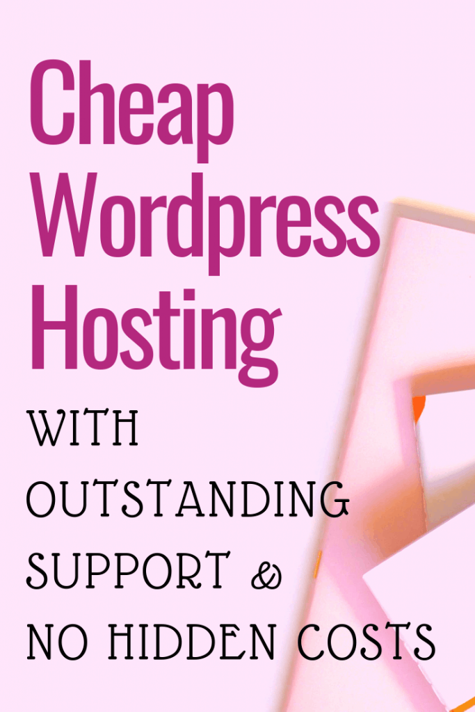 Cheap WordPress hosting with outstanding support