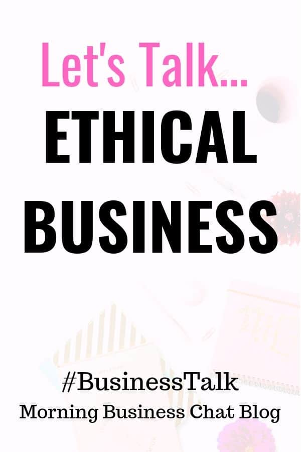 It's Cool To Care - Ethical Business #BusinessTip