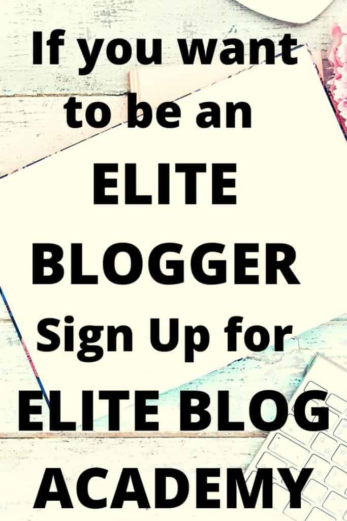 If you really want a profitable blog the this review of Elite Blog Academy is well worth a read. #Blogging