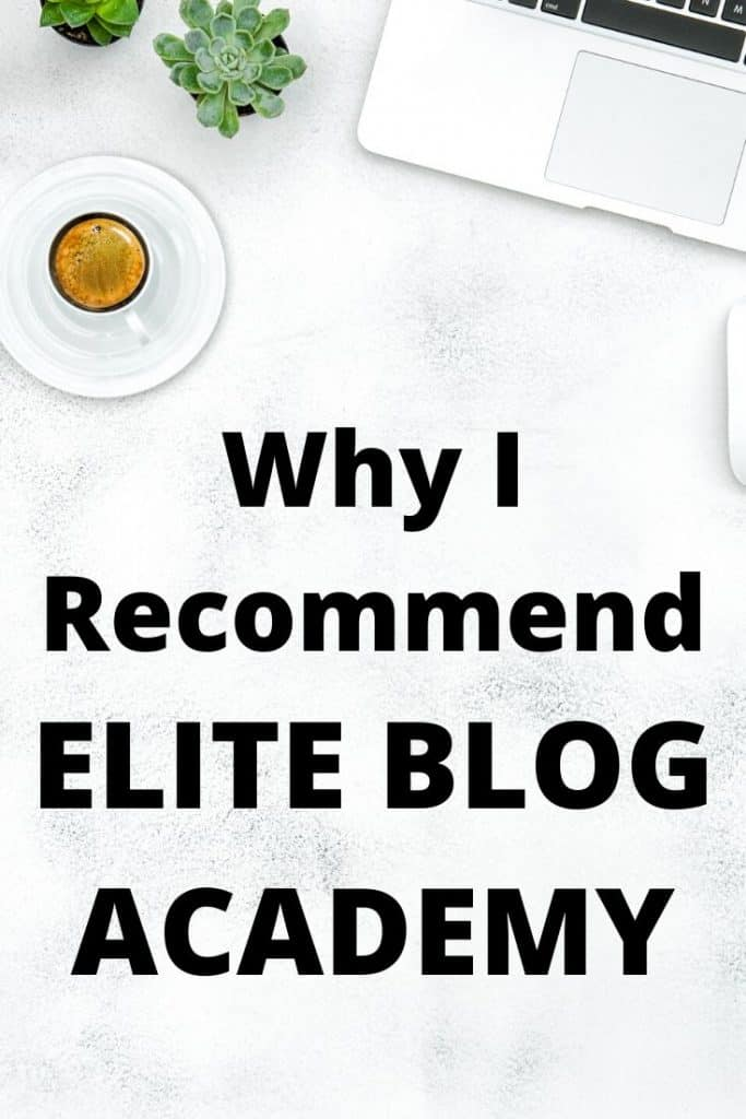 Find out why I recommend Elite Blog Academy above all other blogging courses.  If you want to build a profitable blog then read on.