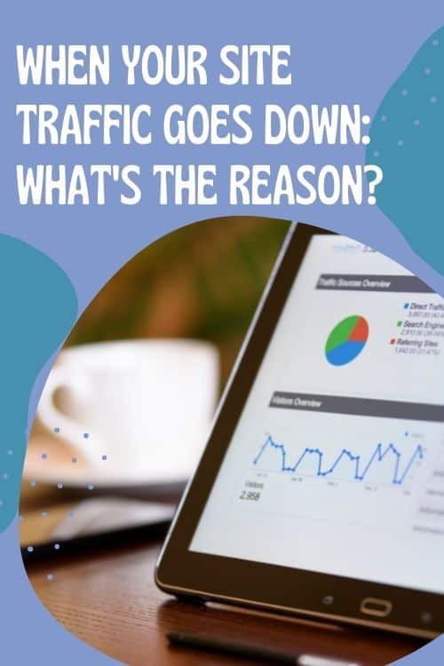 When your Site Traffic Goes Down: What's the Reason?